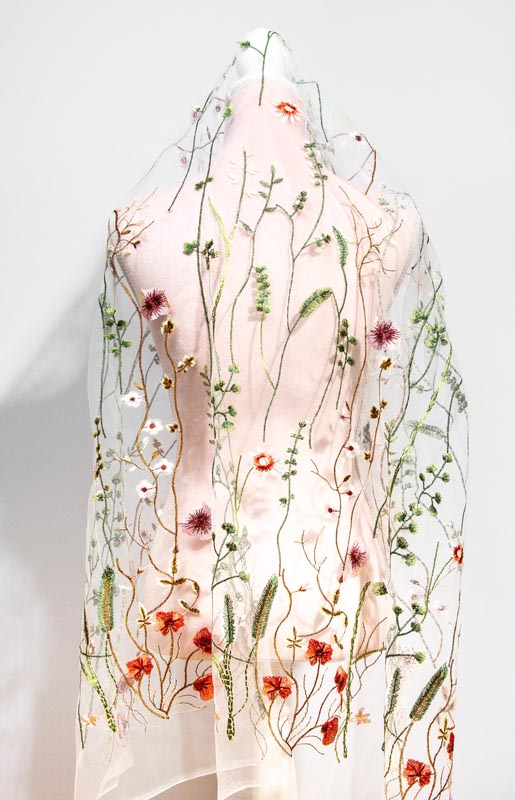 Boho beautiful wedding secret garden veil | Head Turners shop