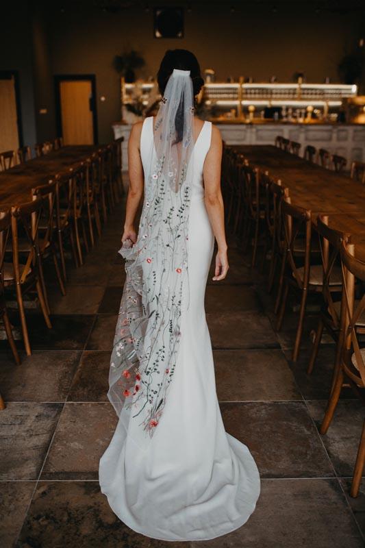 Long secret garden veil | Boho beautiful wedding | shop
